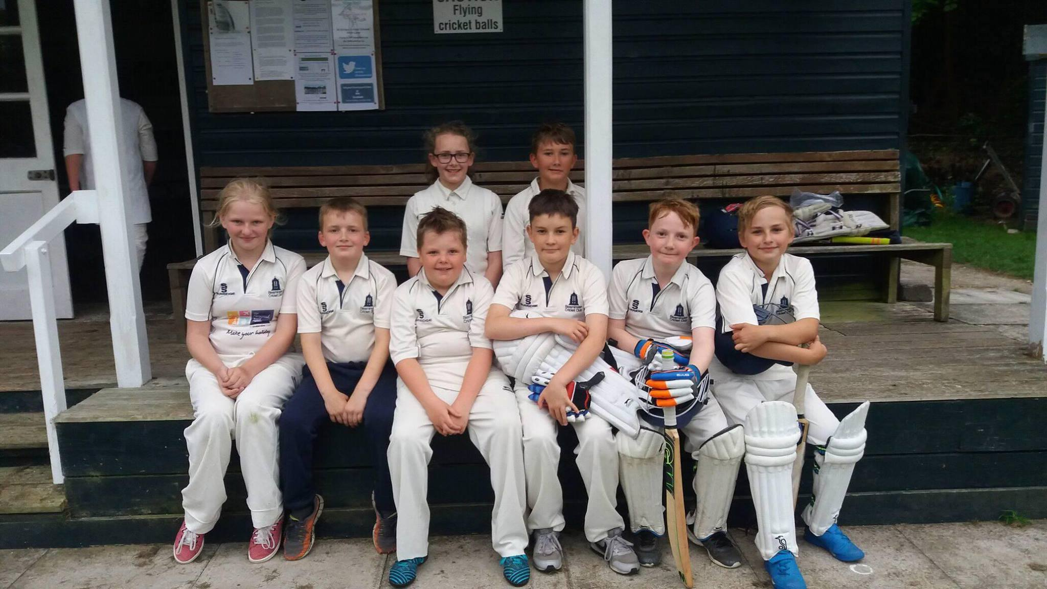 U11s players that won the semi final of the West Dorset Cup - 18/06/18