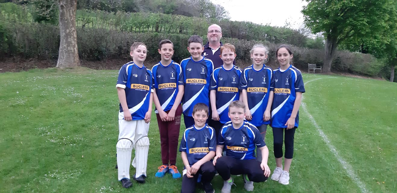 BCC U11s team that played Symene on 23/04/2019