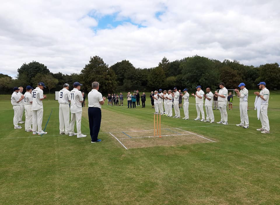BCC tribute to David Groves before the Weymouth game on 29/08/2020
