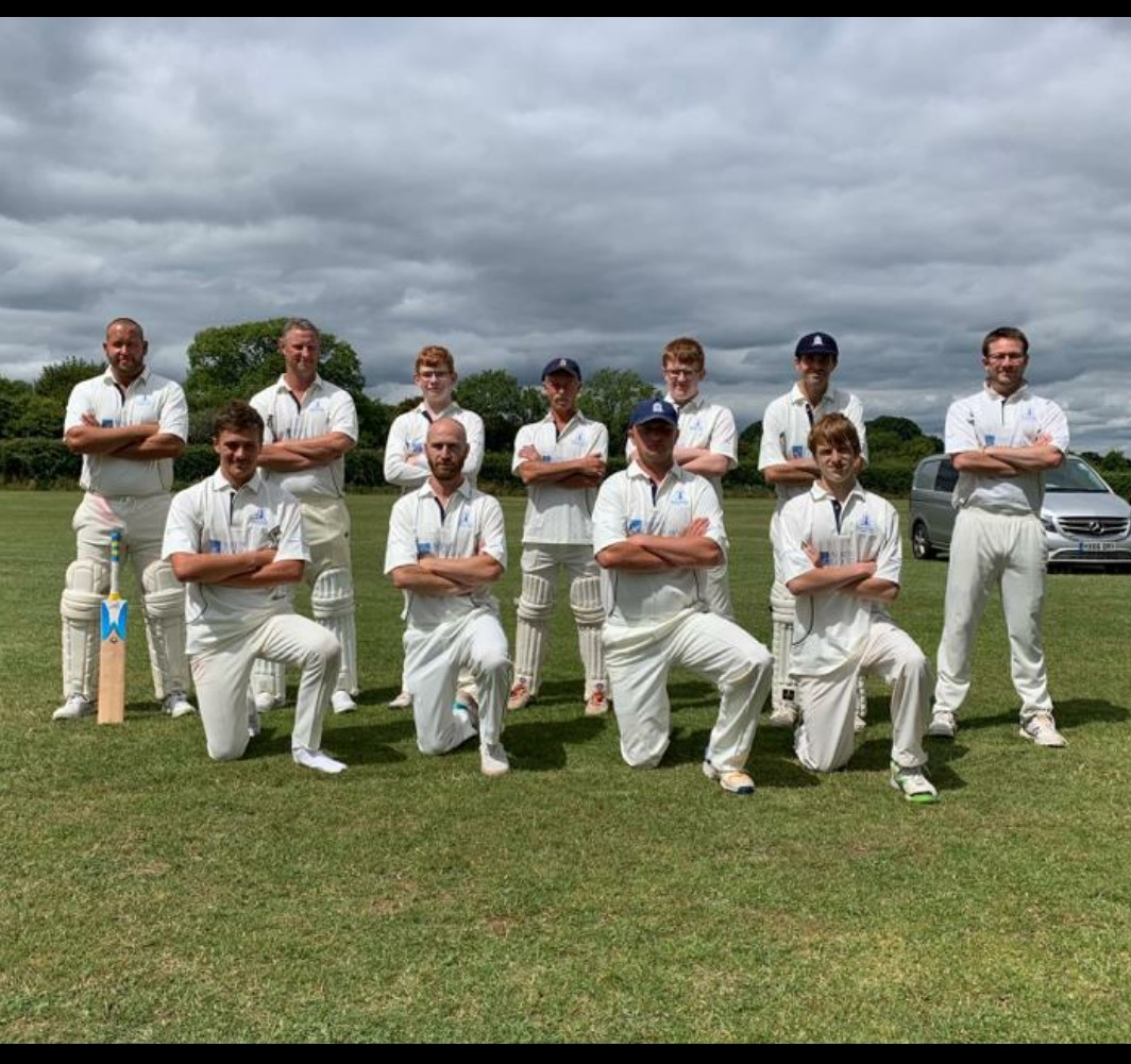 BCC senior team that played Shillingstone on 01/08/2020