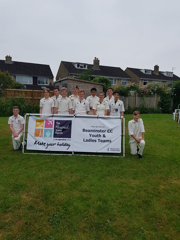 U13s team that lost to Bournemouth in the quarer final of the County Cup on 07/06/2018